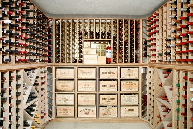 wine cellar (from Real Homes)