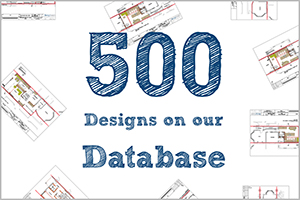 500 Designs on Our Database
