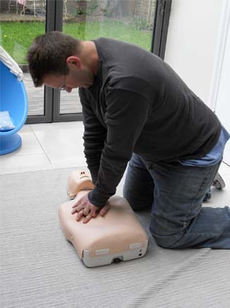 Build Team Train in First Aid and Health and Safety