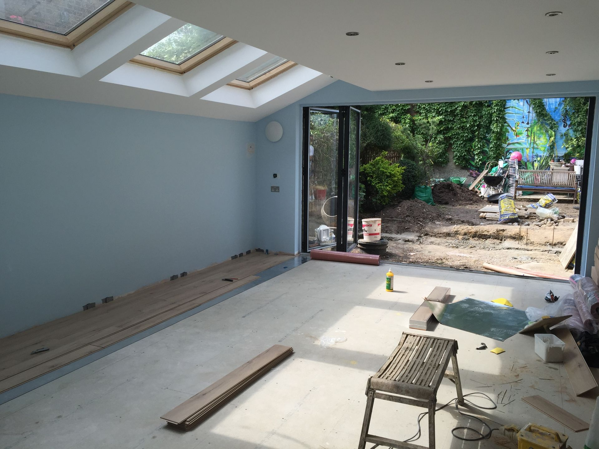 Making excellent progress on our build in Highgate, N19