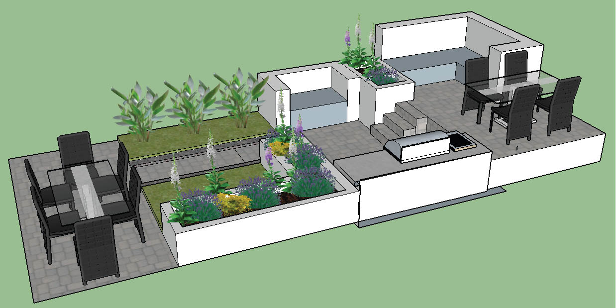 Rapid growth on our Landscape Design Service