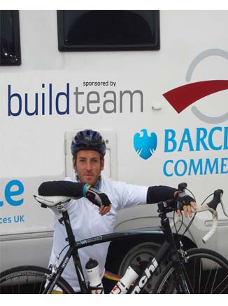Build Team Sponsor Charity Bike Ride from John O'Groats to Lands End