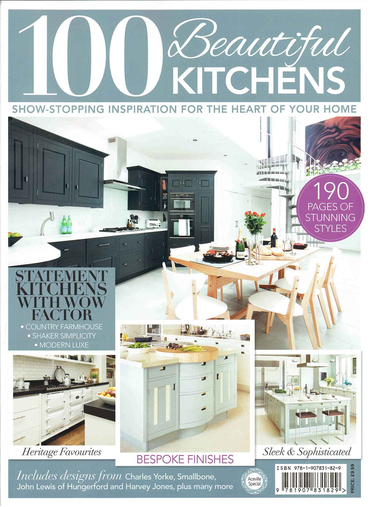 100 Beautiful Kitchens, April 2015