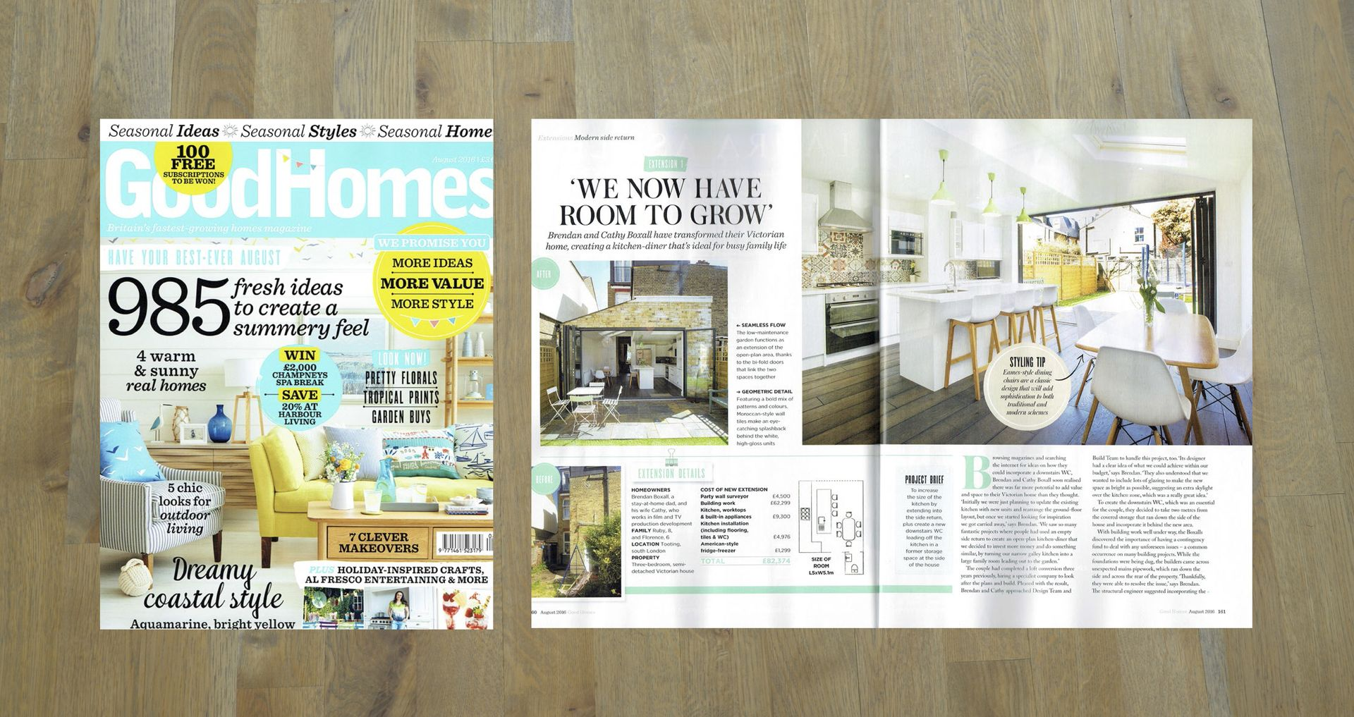 Good Homes, August 2016