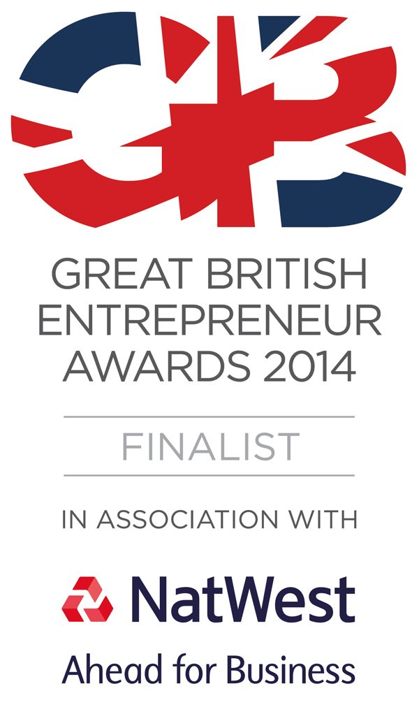 Finalist in the Great British Entrepreneur Awards