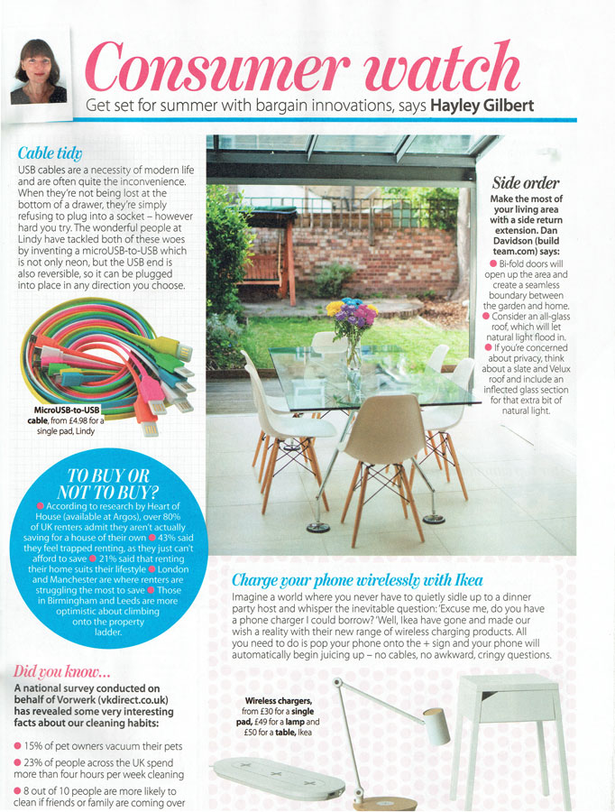 HomeStyle Magazine, July 2015