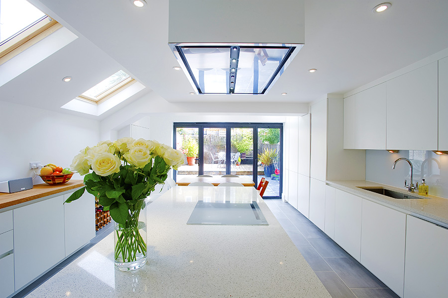 loft conversion ideas terraced houses - Islington N19 Side Return Extensions Project